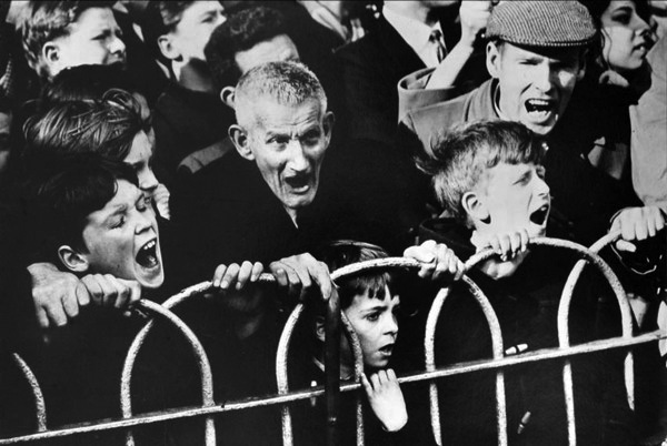 Crowd, Cup Tie - Arsenal v Liverpool, 1963