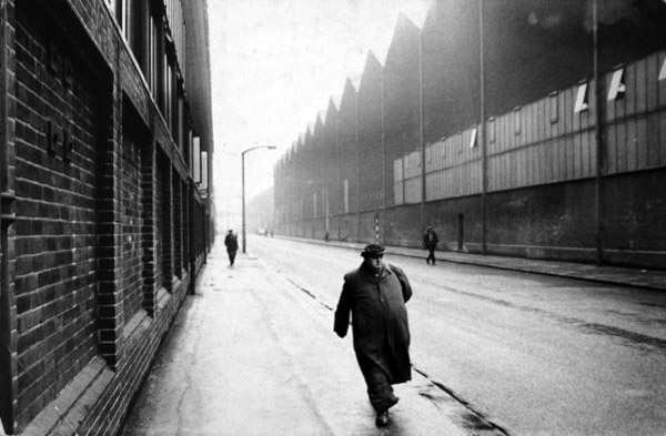 Man Leaving a Factory, Sheffield